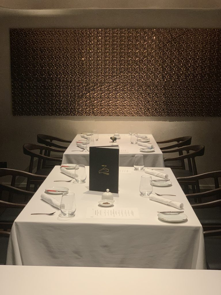 New Dining Area | DC Restaurant Dom Perignon Pairing | Food For Thought