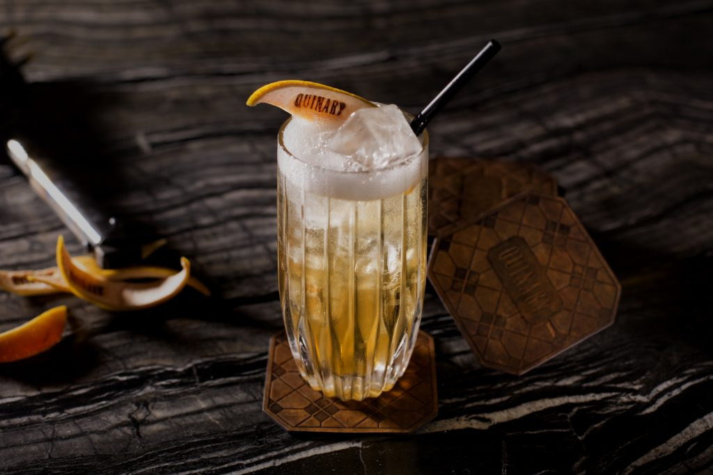 Oolong Tea Collins | Quinary Hong Kong | Food For Thought