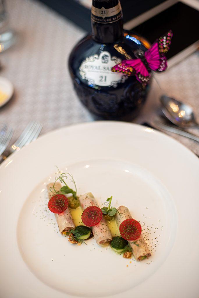 Orange & Lime Lamb Salad | Royal Salute Olfactory Studio | Food For Thought