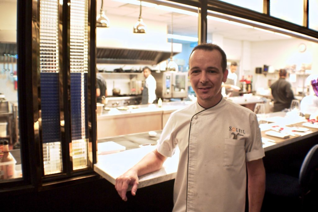 Chef Evert Odebeke | Soleil | Food For Thought