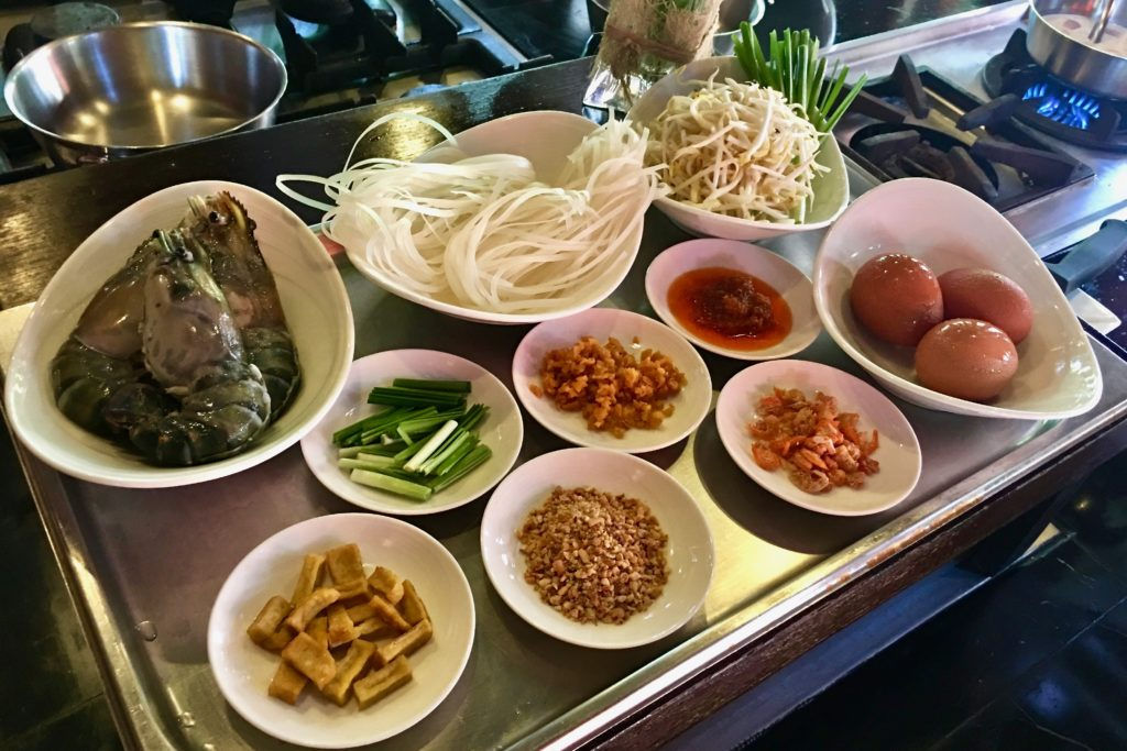 Pad Thai Ingredients | Cooking Class | 137 Pillars House | Food For Thought