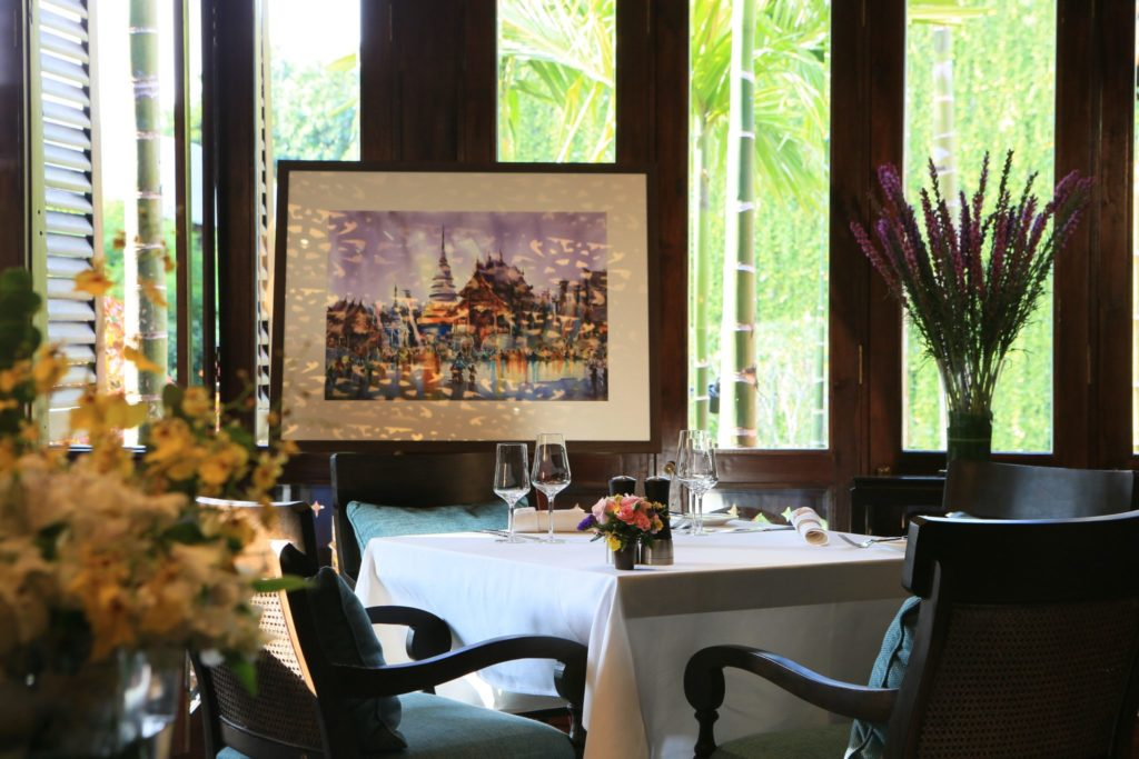 Palette Restaurant   137 Pillars House   Food For Thought