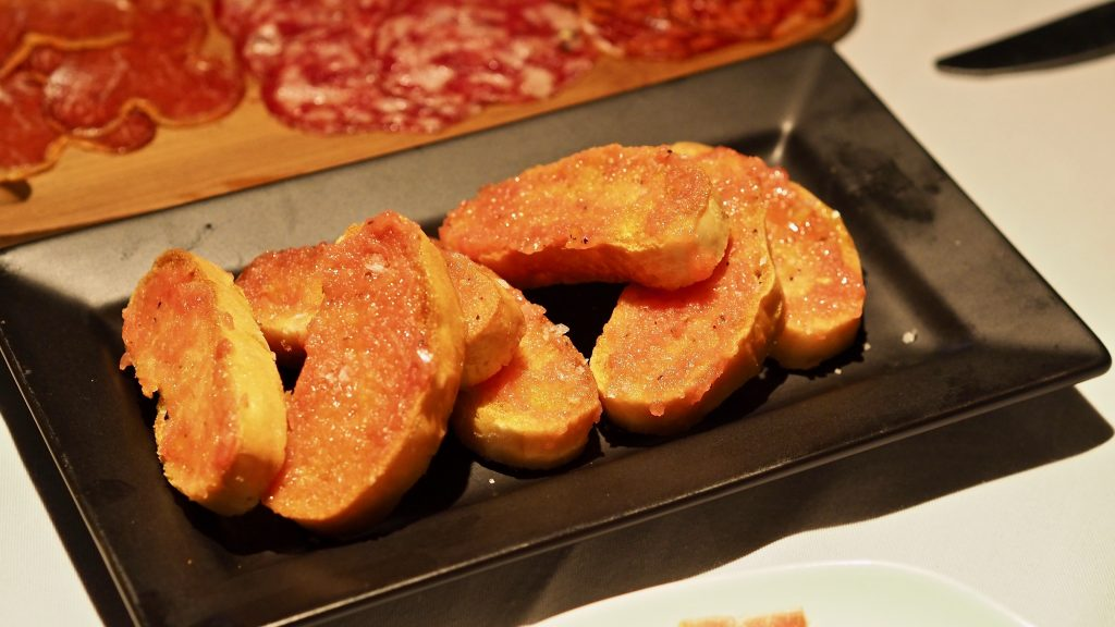 Pan Con Tomate | Leonardo's Dining Room & Wine Loft | Food For Thought