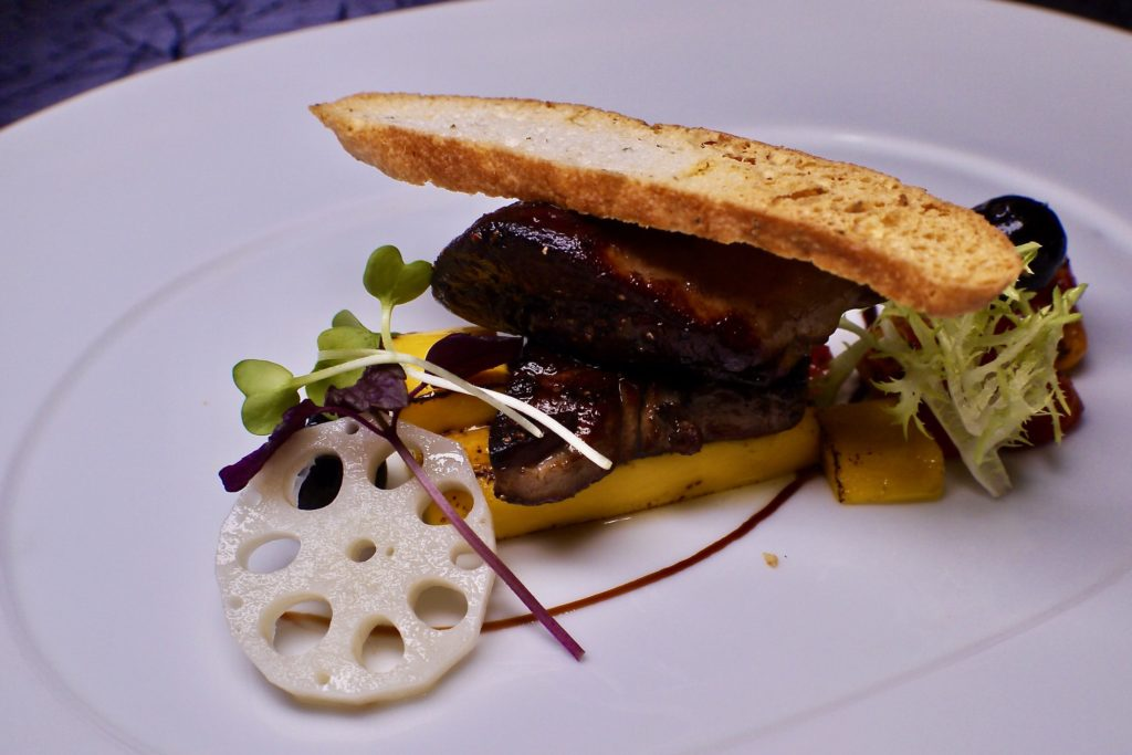 Pan Seared Foie Gras | Samplings on the 14th | Food For Thought