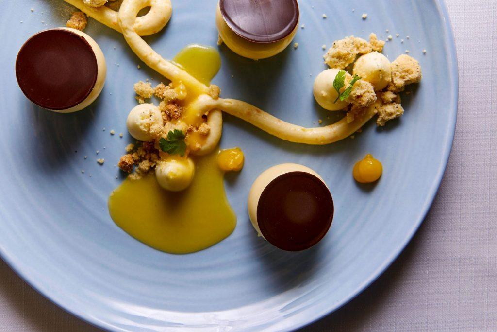 Panna Cotta Alla Vaniglia E Kumquat | Mandarin Grill | Food For Thought