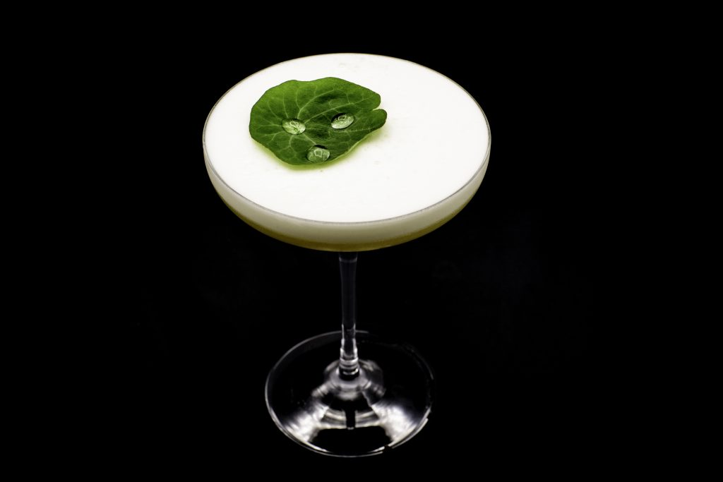 Peach & Wasabi | Indigenous Bartender | IB HQ Singapore | Food For Thought