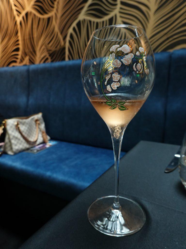 Perrier-Jouët Blason Rosé | Skillet at 163 x Perrier Jouét | Food For Thought
