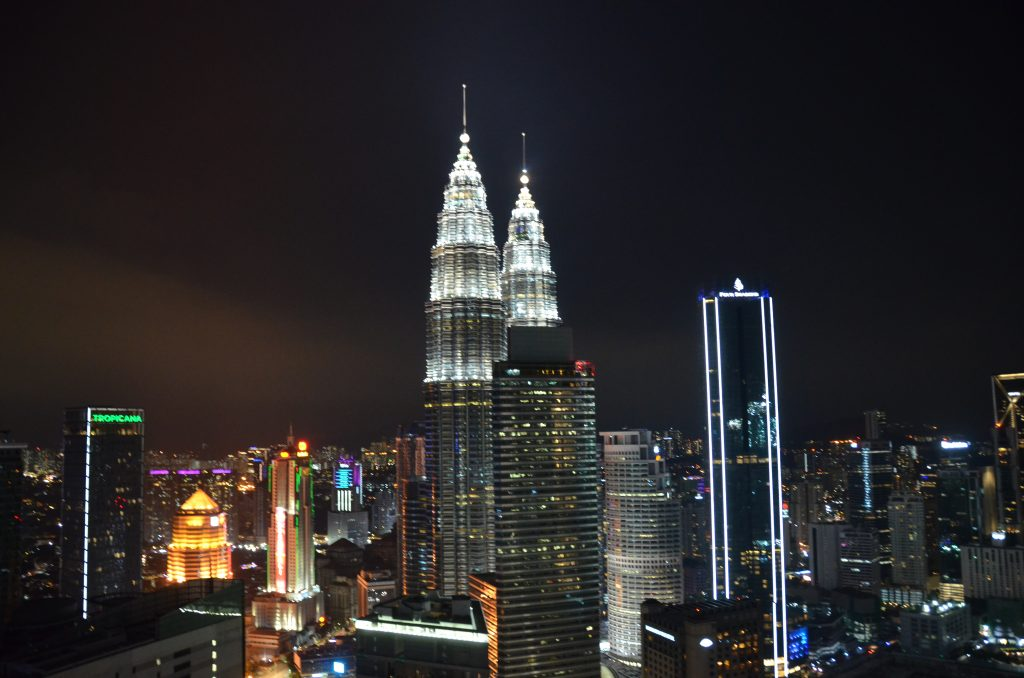 Petronas Twin Towers View at Night | Sabayon by EQ | Food For Thought