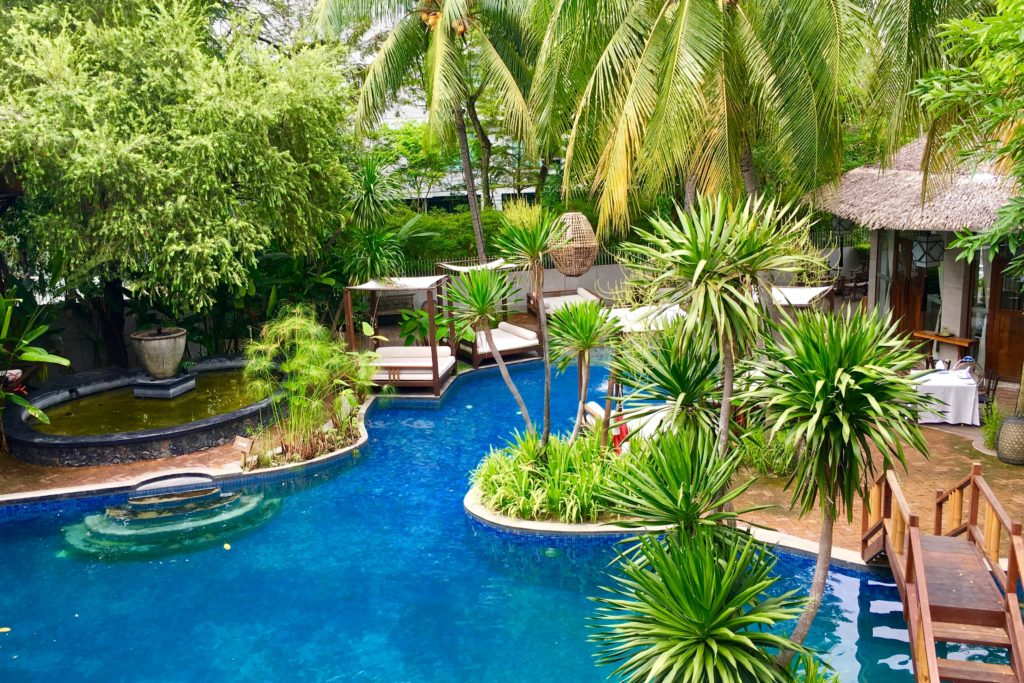 Lagoon Pool | Villa Samadhi | Food For Thought
