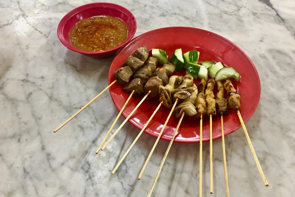 Pork Satay | Ipoh Food Guide | Food For Thought