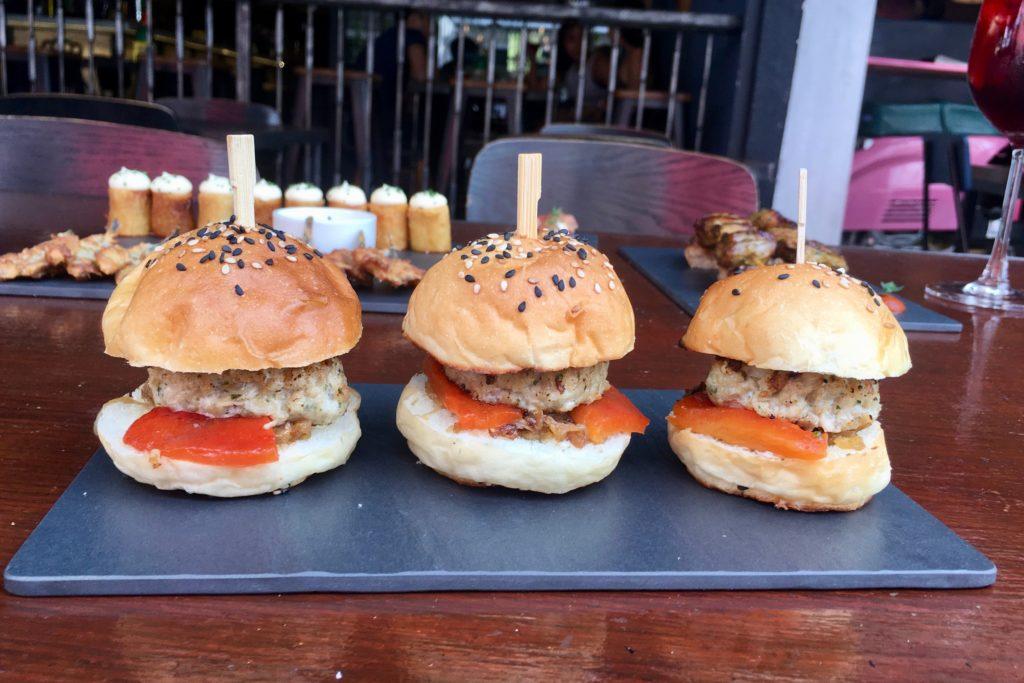 Pork Sliders | Mercat Barcelona Gastrobar | Food For Thought