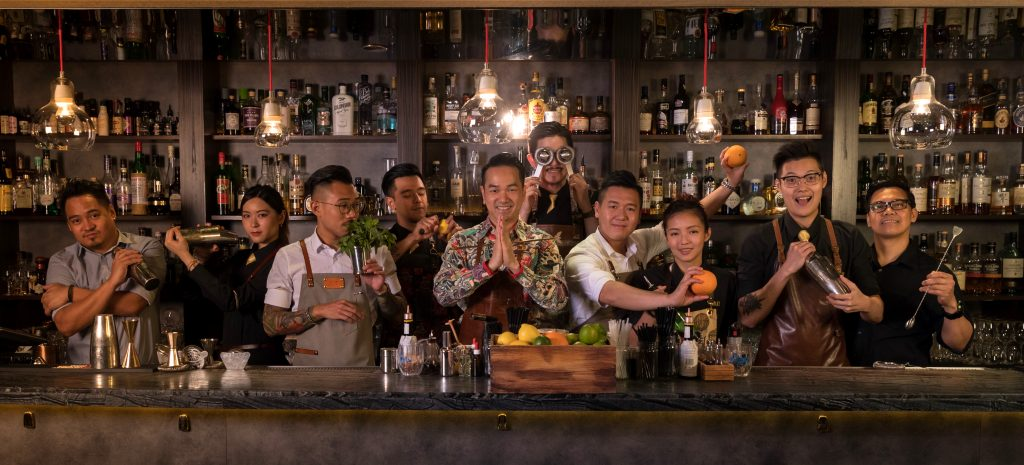 Quinary Bar Team | Quinary Hong Kong | Food For Thought