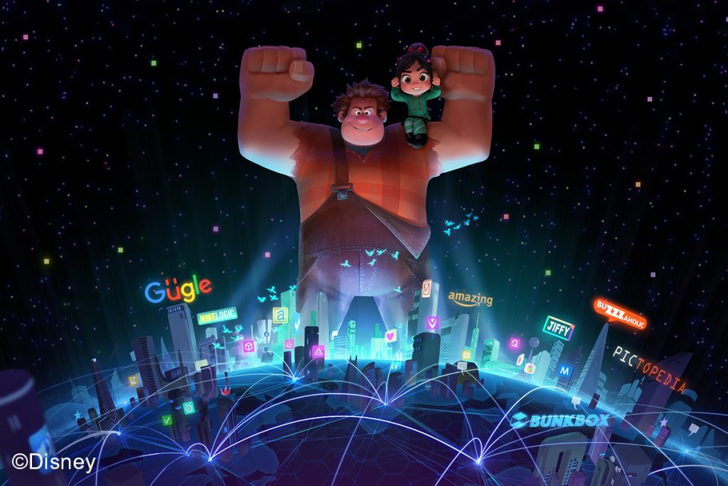Ralph Breaks the Internet Wreck-It Ralph 2, 2018, Concept art, Mingjue Helen Chen © Disney | Food For Thought