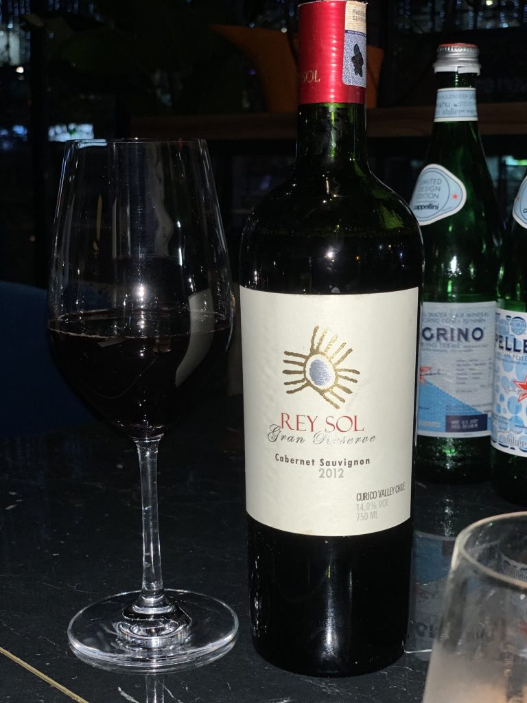 Rey Sol Gran Reserve Cabernet Sauvignon 2012 | Beta Test Kitchen | Food For Thought