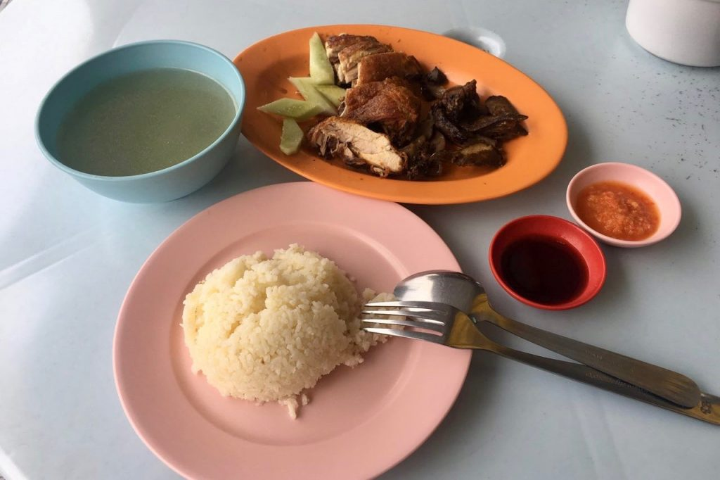 Roasted Chicken Rice | Nasi Ayam | Ipoh Food Guide | Food For Thought