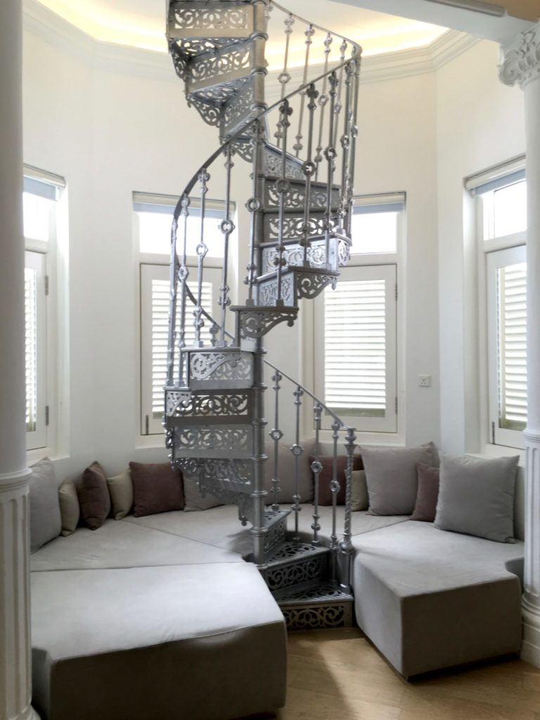 Room 4 Antique Staircase - Macalister Mansion - Food For Thought
