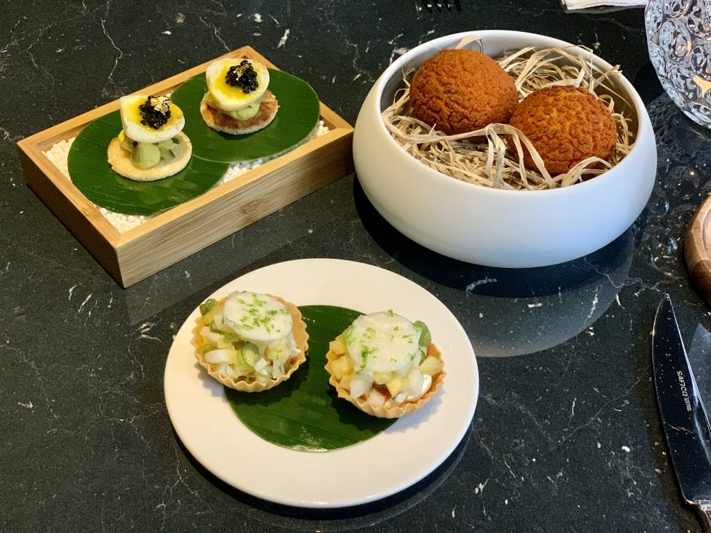 SNACKS Pineapple, Kangkung, Peanut, Eggs on Toast, Rendang Chicken Liver Bao | Beta Test Kitchen | Food For Thought