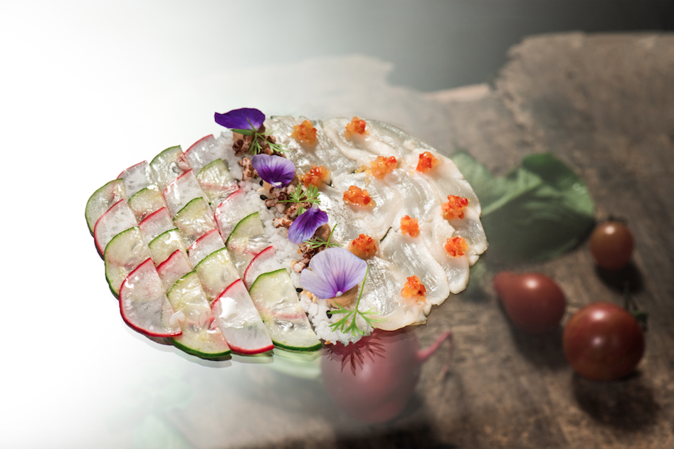 Scallop Ceviche | Enfin by James Won | Food For Thought