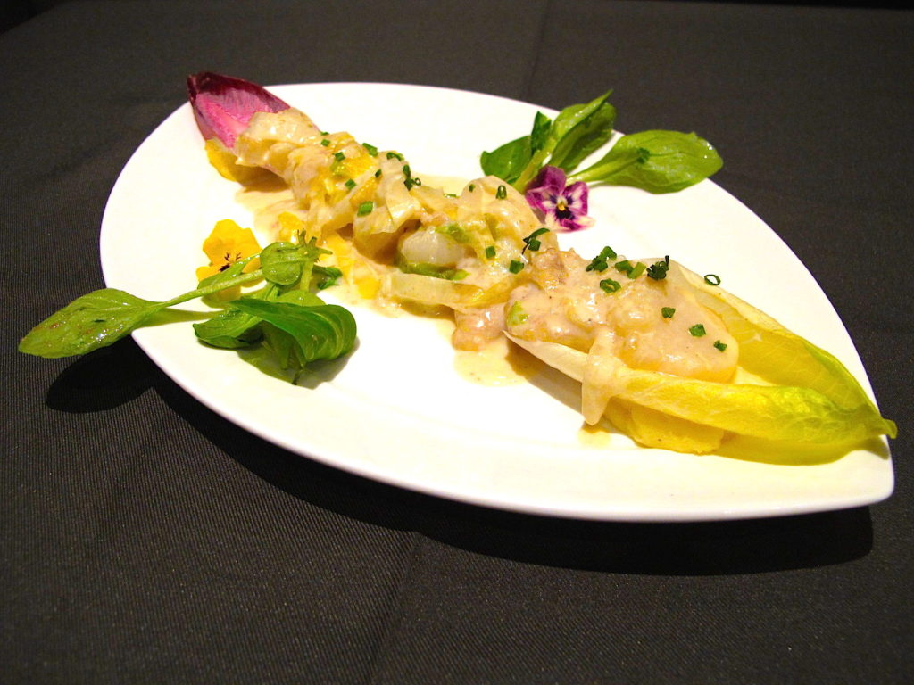 Scallops with Witloff - The Fine Dining - Food For Thought