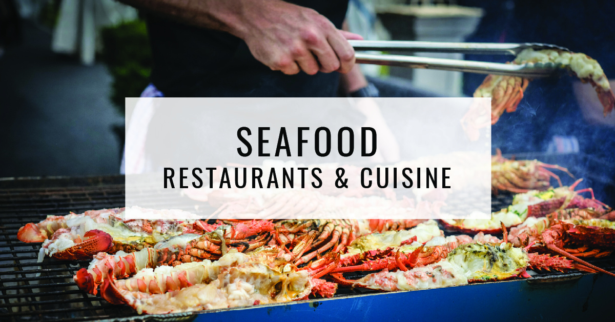 Seafood Restaurants & Cuisine Title Card | Food For Thought