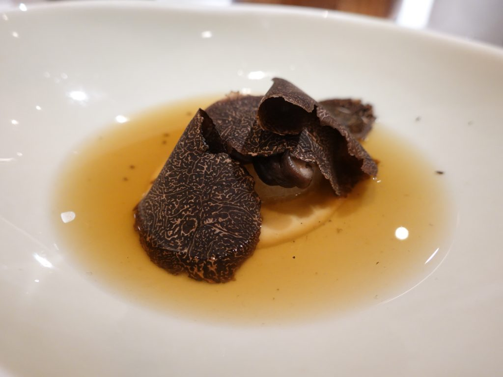 Shiitake Dashi | DC Restaurant x Kamoshibito Kuheiji | Food For Thought