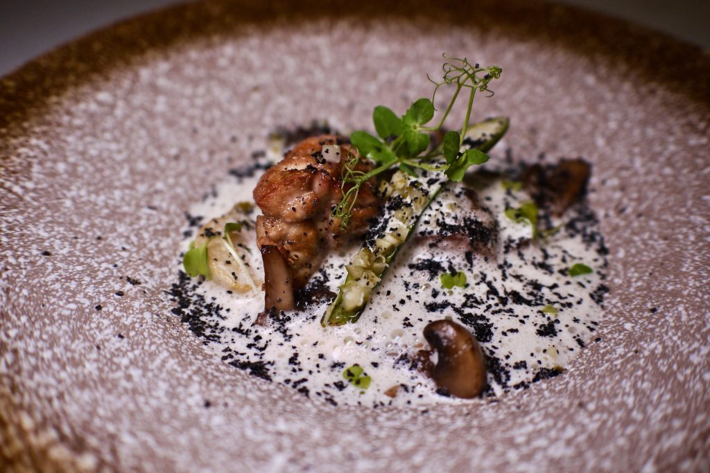 Slow Cooked Veal Head, Tongue and Sweetbread Stew | Soleil | Food For Thought