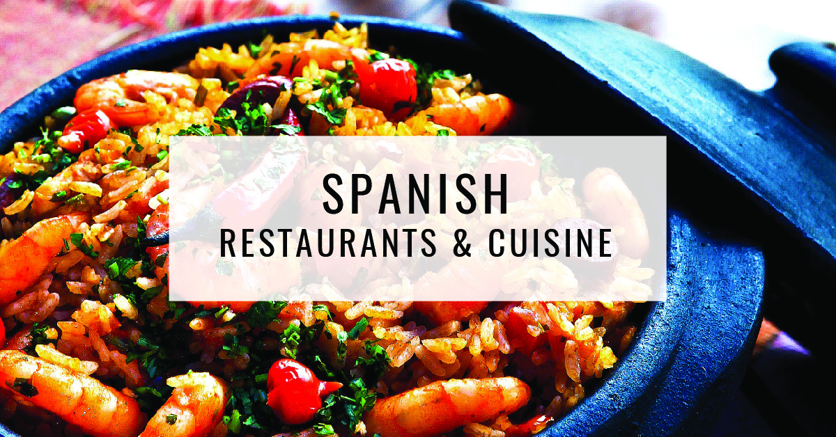 Spanish Restaurants & Cuisine Title Card | Food For Thought