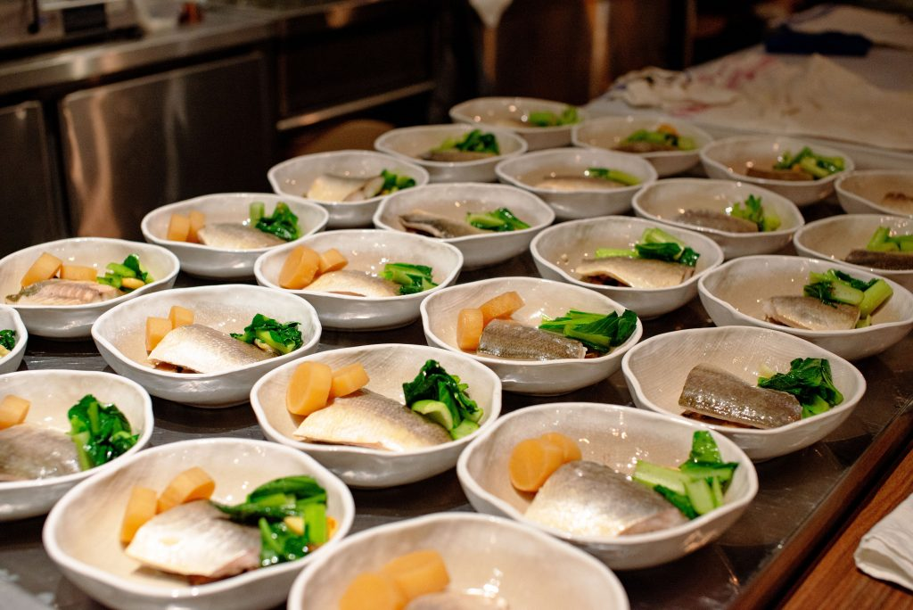 Steamed Baked Local Fish, Mushrooms, Smoked Fish Sauce | Wolf Blass Find Your Flavour | Food For Thought