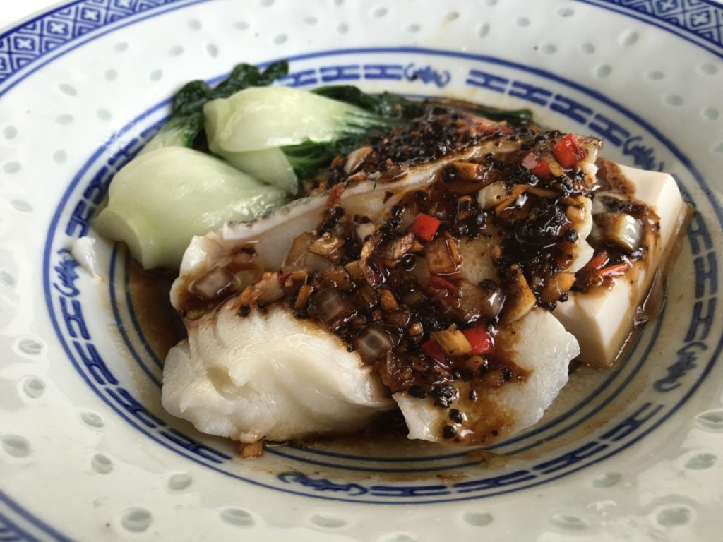 Steamed Cod with Black Bean Sauce | Cheong Fatt Tze | Food For Thought