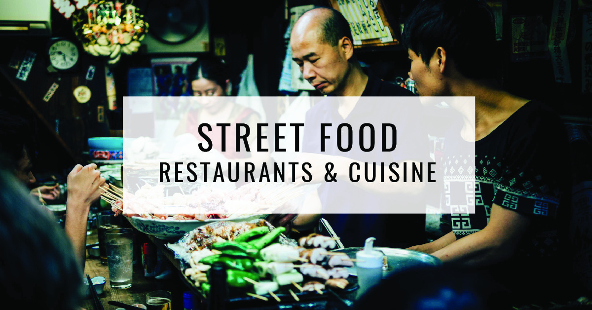 Street Food Restaurants & Cuisine Title Card | Food For Thought