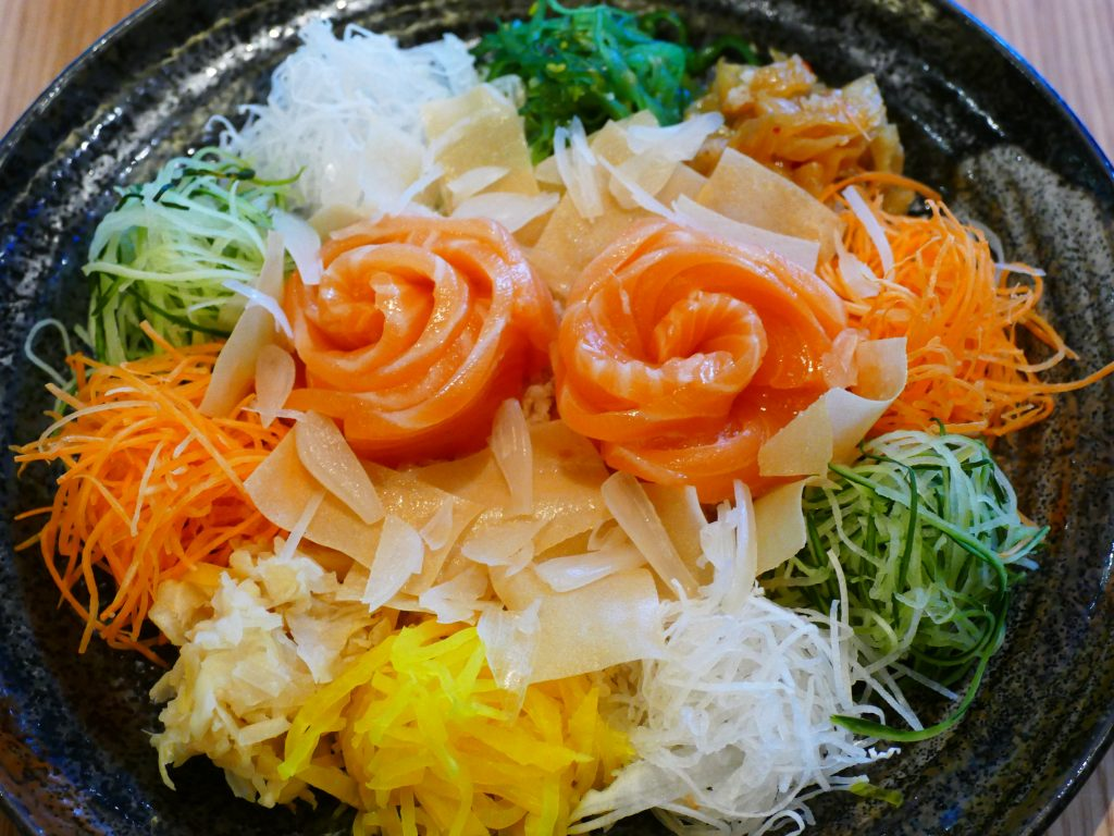 Yee Sang Tour Genting | Prosperity Yee Sang | Sushi Zanmai | Food For Thought