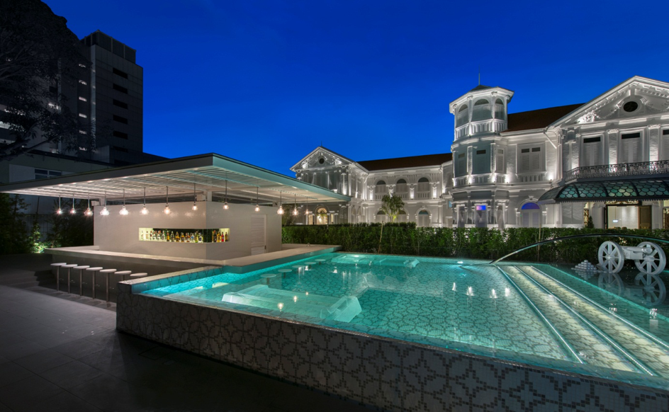 Swimming Pool & Bar - Macalister Mansion - Food For Thought