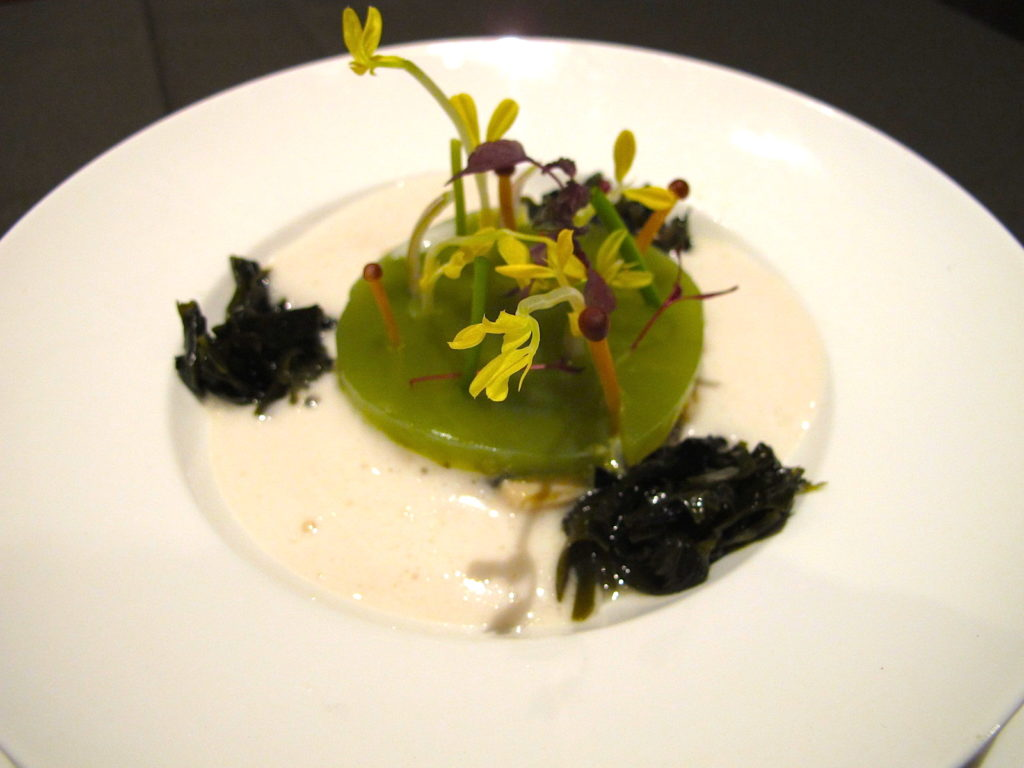 Tartar of Oysters in Apple - The Fine Dining - Food For Thought