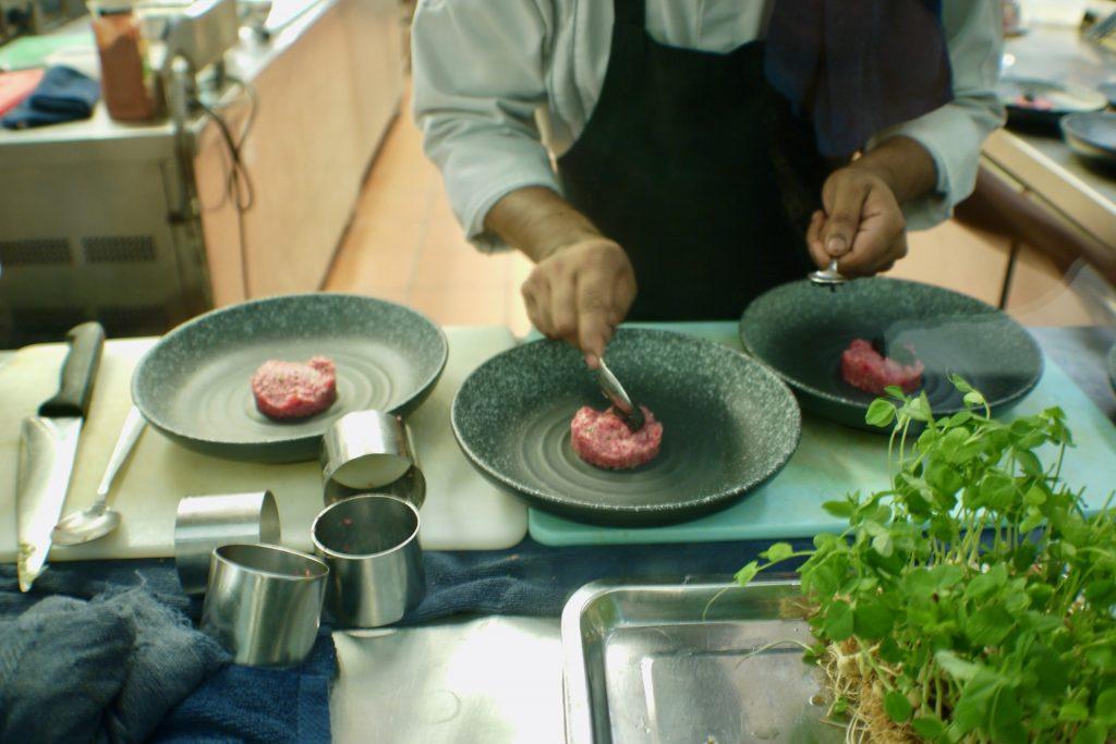 Tartare Preparation | Soleil's Chef's Table | Soleil
