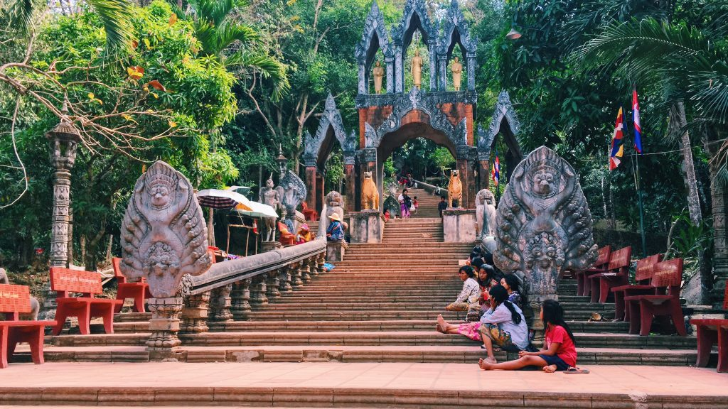 Temple Stairs | Seam Reap, the underdog of Southeast Asia | Sonia Soon | Food For Thought
