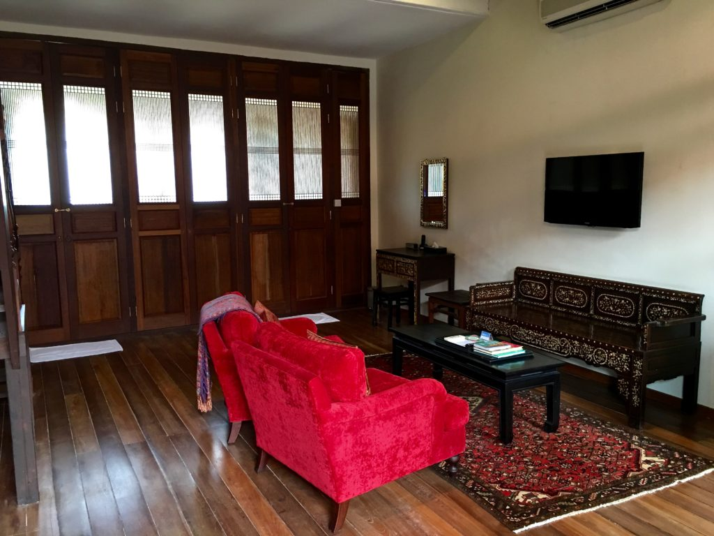 Terraced Duplex Suite | Living Room 2 | Seven Terraces Hotel | Food For Thought