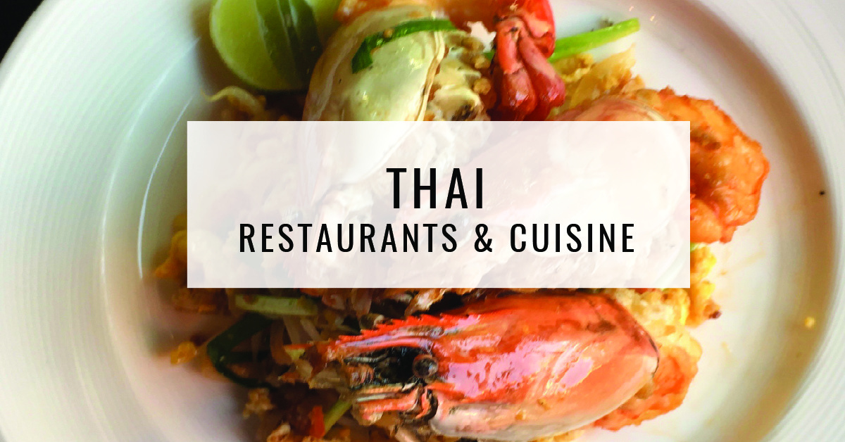 Halal Restaurants & Cuisine Title Card | Food For ThoughtThai Restaurants & Cuisine Title Card | Food For Thought