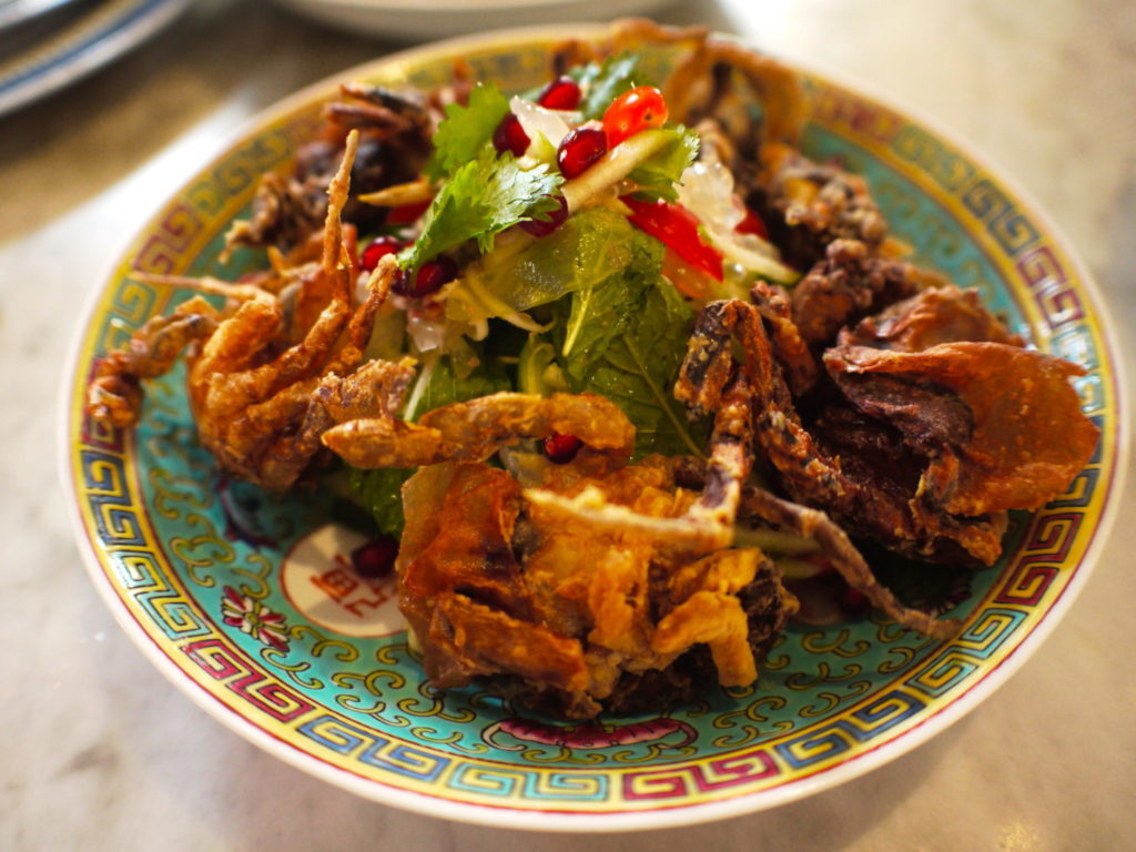 Thai Soft Shell Crab Salad - Kebaya House - Food For Thought