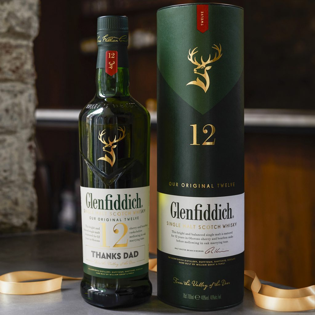 Thanks Dad | Glenfiddich Personalised Label | Food For Thought