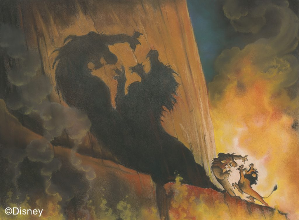 The Lion King, 1994, Concept art, Kelvin Yasuda © Disney | Food For Thought