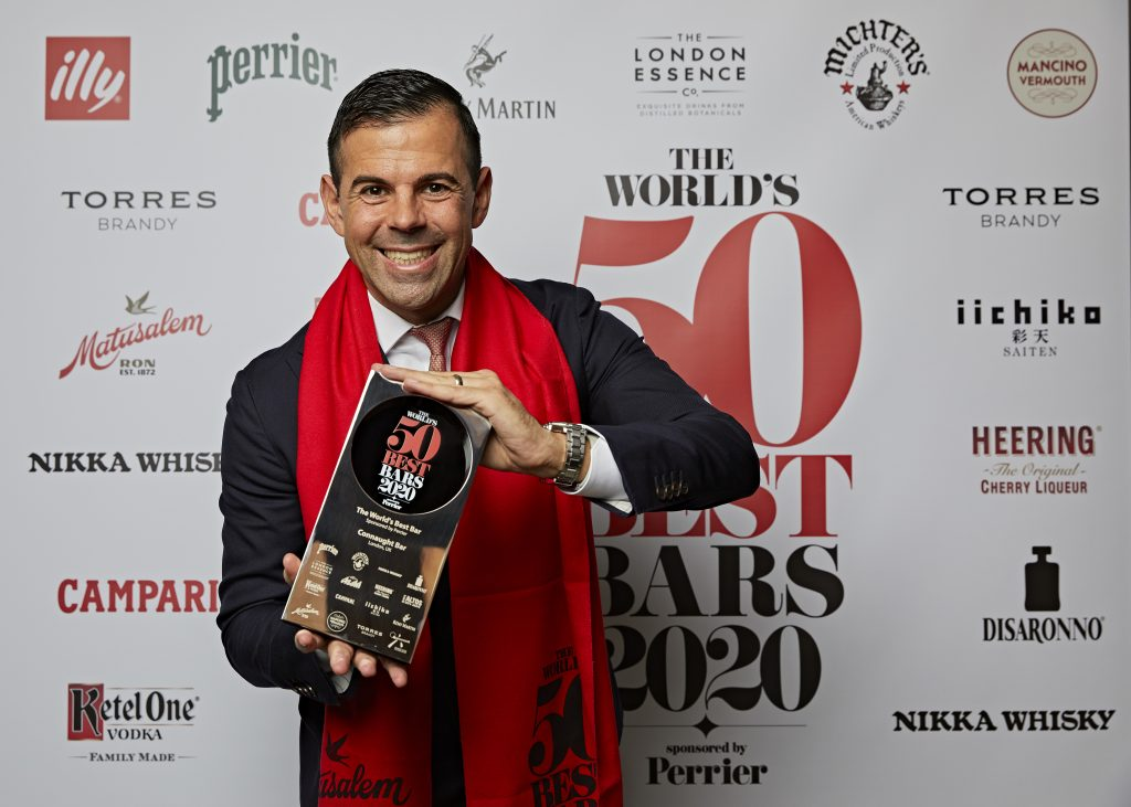 The World's 50 Best Bars 2020 - Agostino Perrone | The Worlds 50 Best Bars 2020 | Food For Thought