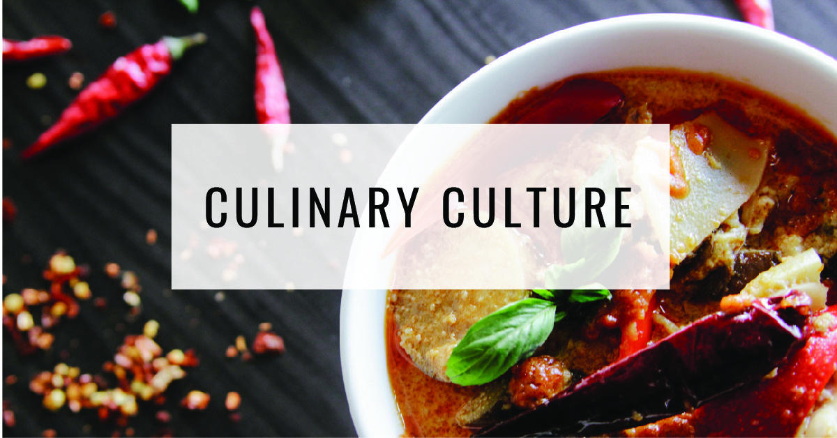 Culinary Culture Title Card | Food For Thought