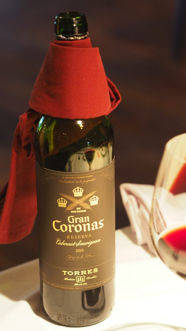 Torres Gran Coronas Reserva Cabernet Sauvignon 2015 | Leonardo's Dining Room & Wine Loft | Food For Thought