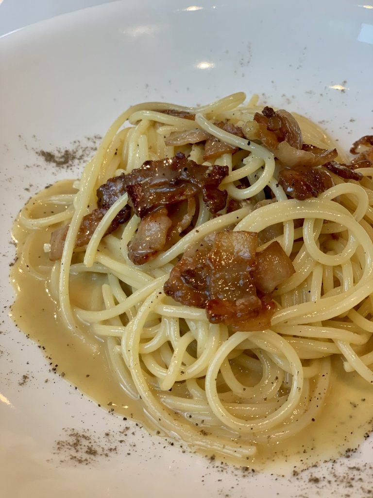 Traditional Spaghetti Carbonara | Sossolino | Food For Thought