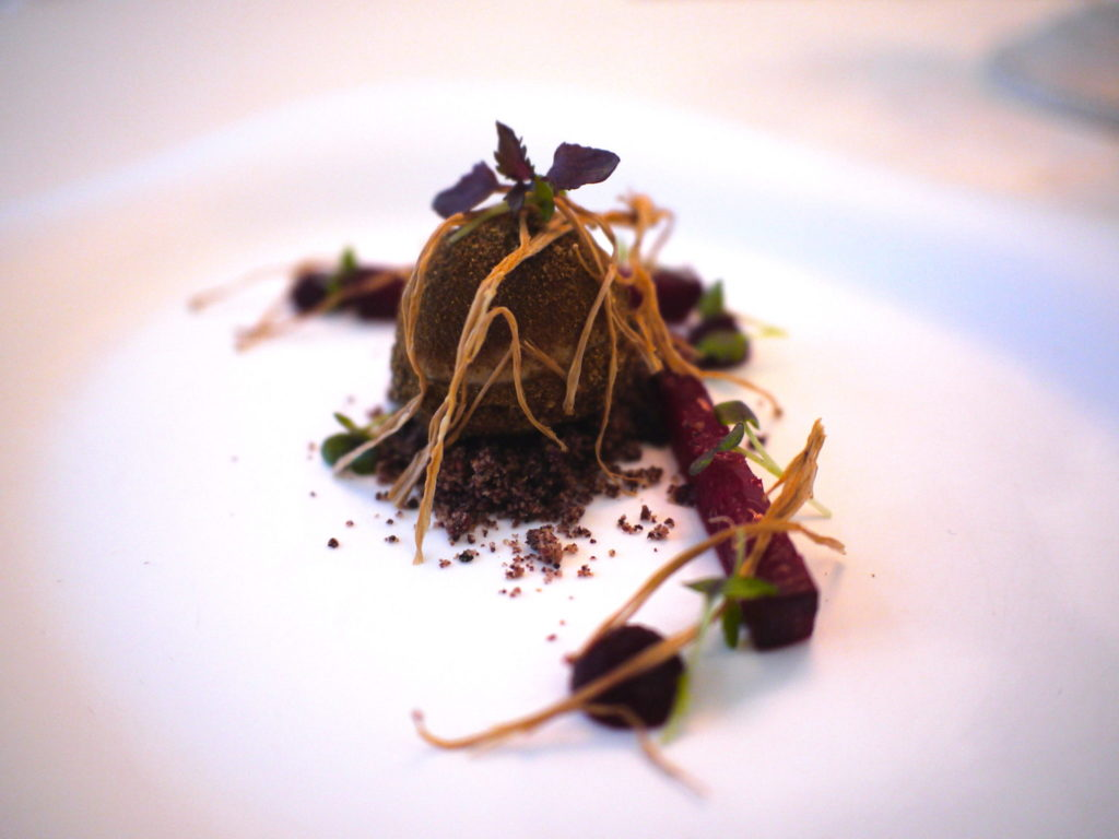 Truffle Spheres with Foie Gras - Macalister Mansion - Food For Thought