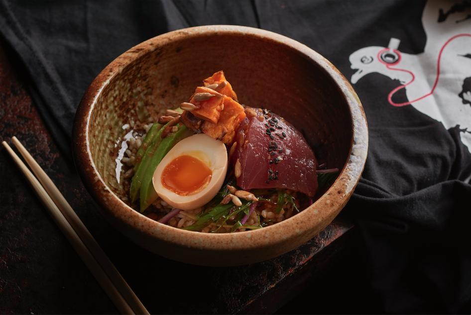 Tuna Sashimi Donburi | Neon Pigeon | Food For Thought