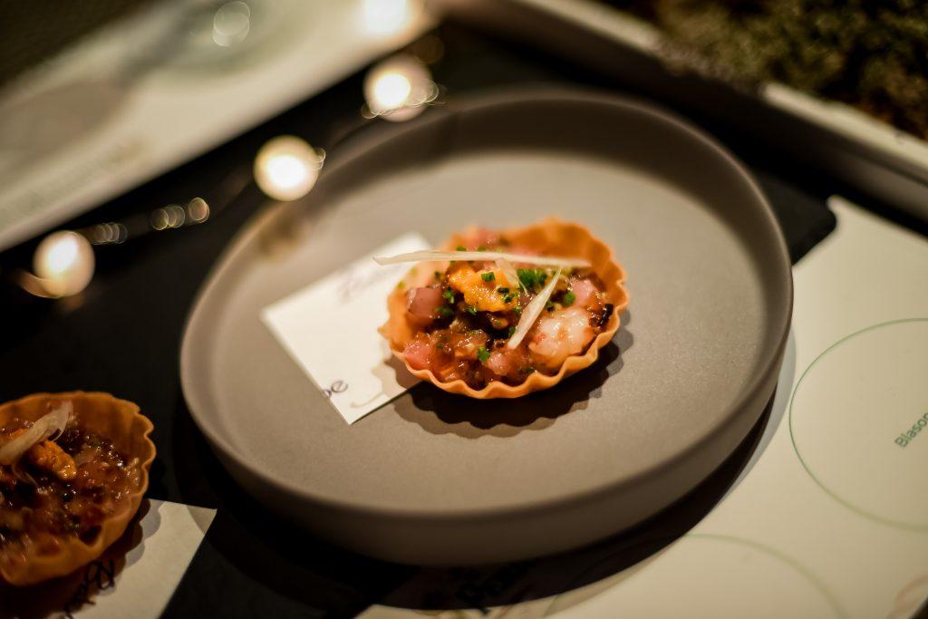 Uni, Ootoro, Botan Ebi Tartlette | Babe - Japas Fun Dining | Food For Thought