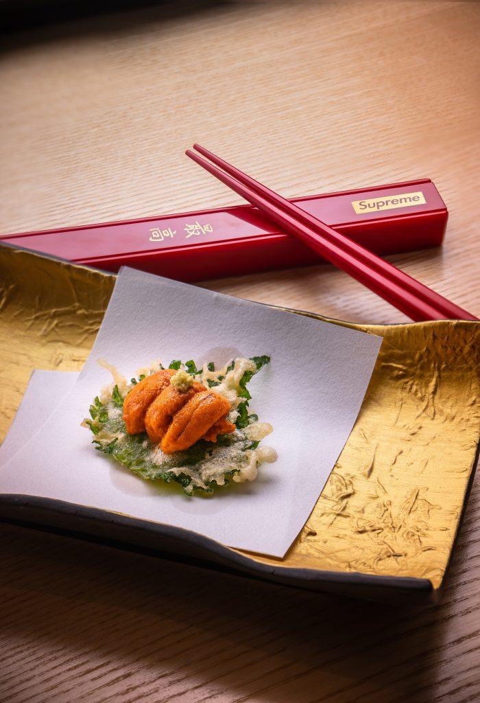 Uni Shiso Tempura | Tenmasa | Food For Thought