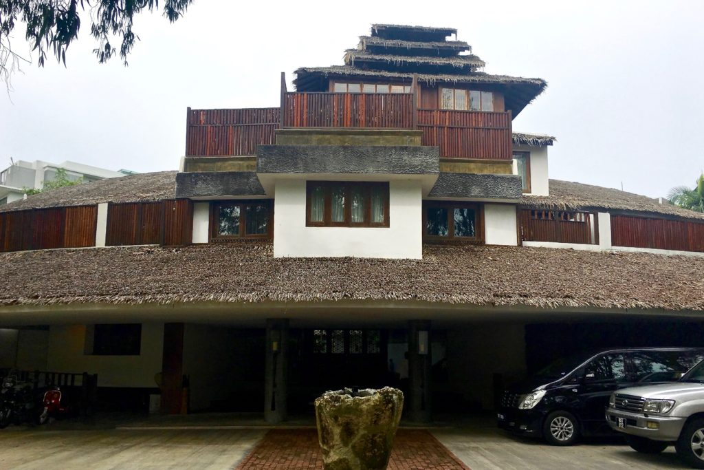 Villa Samadhi Facade | Villa Samadhi | Food For Thought
