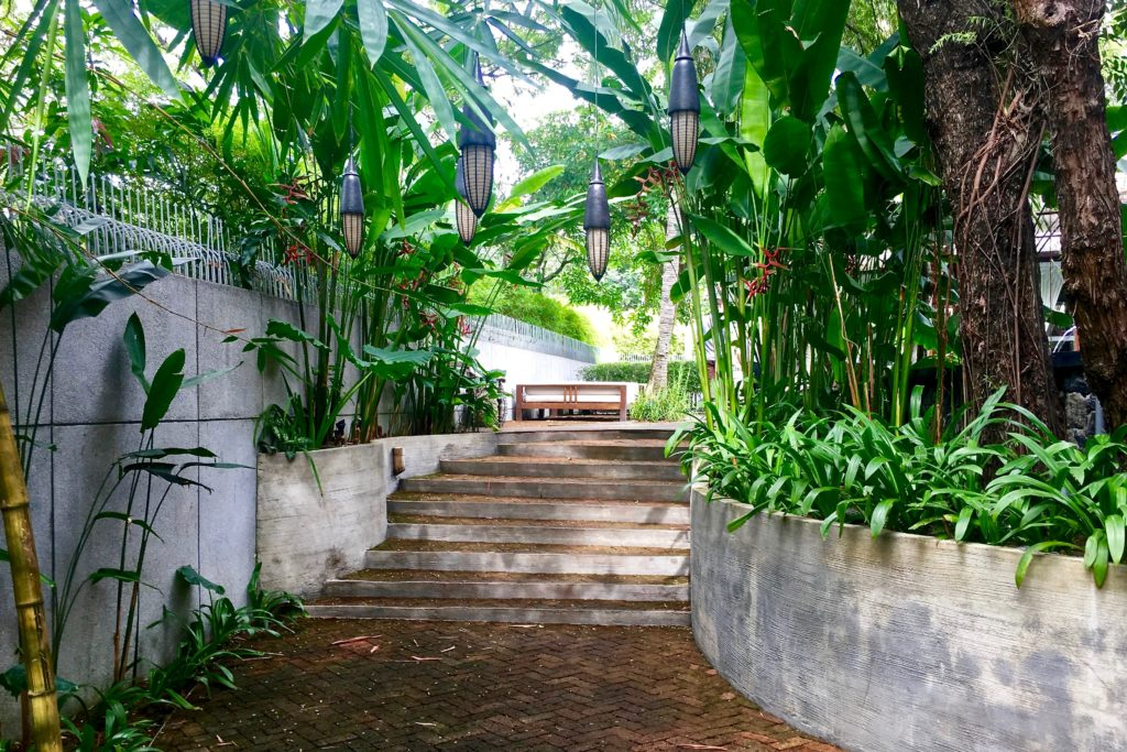 Walkway | Villa Samadhi | Food For Thought